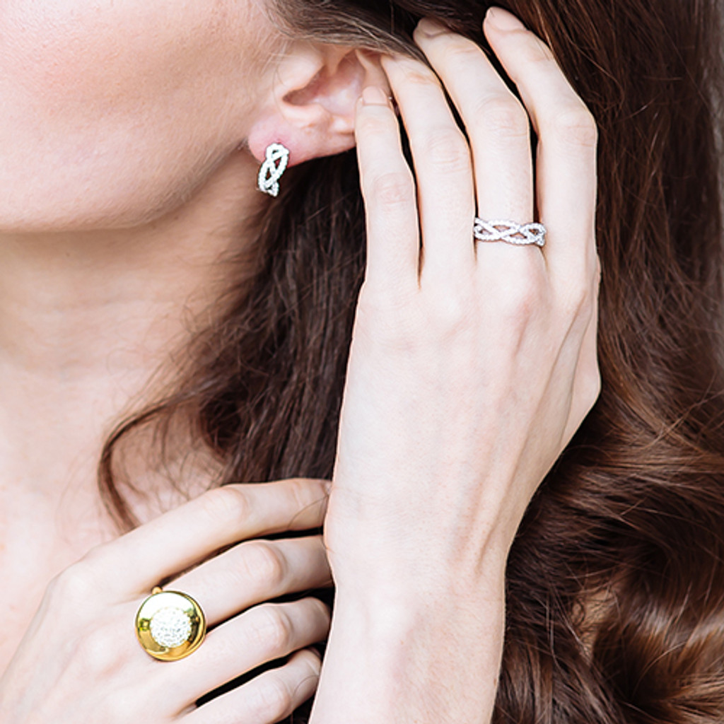 raindrop-diamond-woven-ring-earrings-gold-stylerocks