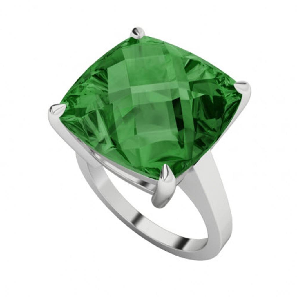 stylerocks-emerald-14mm-cushion-checkerboard-gold-ring