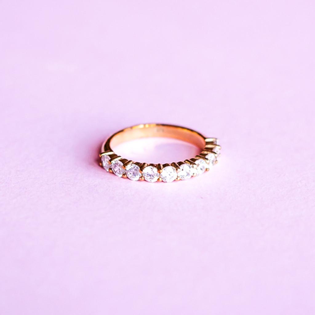 Diamond Eternity Ring (White Gold)