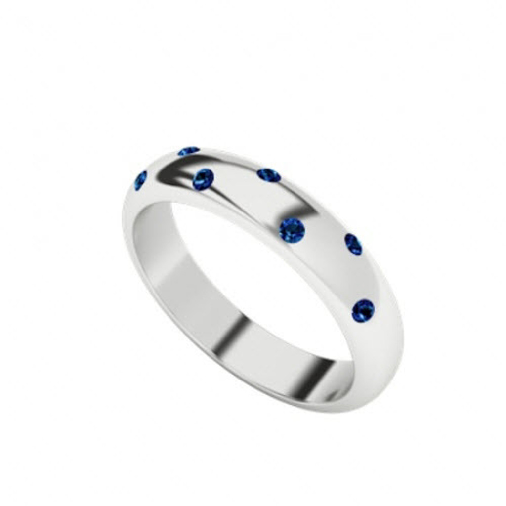 stylerocks-blue-sapphire-9-carat-white-gold-domed-ring