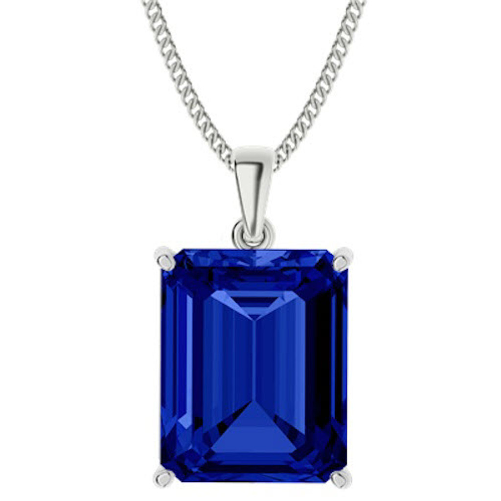 stylerocks-emerald-cut-10mm-blue-sapphire-sterling-silver-necklace