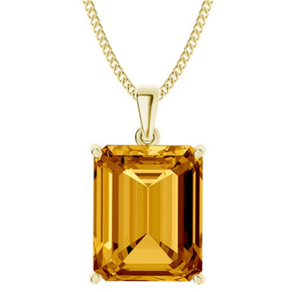 stylerocks-emerald-cut-10mm-citrine-9ct-yellow-gold-necklace
