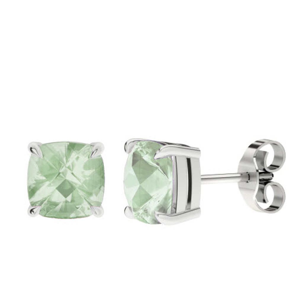 stylerocks-green-amethyst-8mm-cushion-checkerboard-silver-stud-earrings