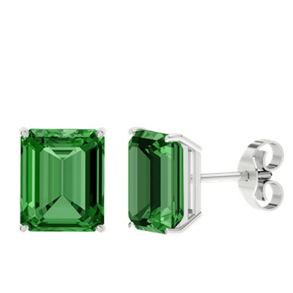 stylerocks-emerald-emerald-cut-10mm-sterling-silver-stud-earrings