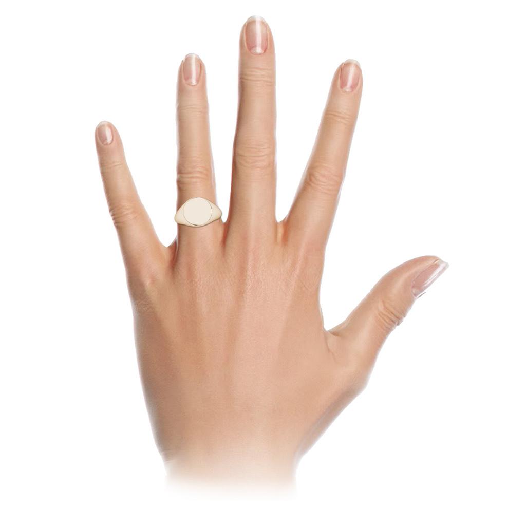 stylerocks-9-carat-rose-gold-oval-signet-ring-on-hand