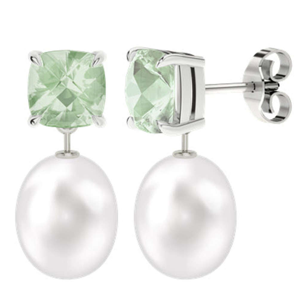 stylerocks-green-amethyst-8mm-cushion-checkerboard-studs-with-drop-pearl-white-gold-earrings
