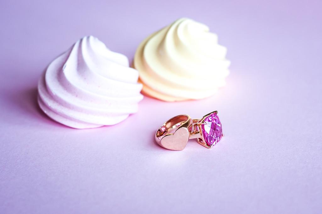 Heart Signet Ring (Rose Gold)