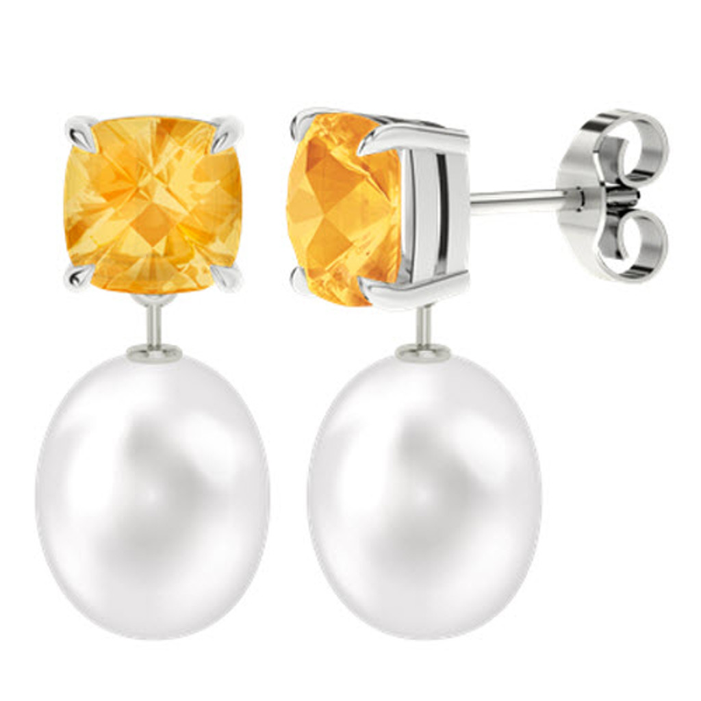 stylerocks-8mm-citrine-cushion-checkerboard-studs-with-drop-pearl-white-gold-earrings