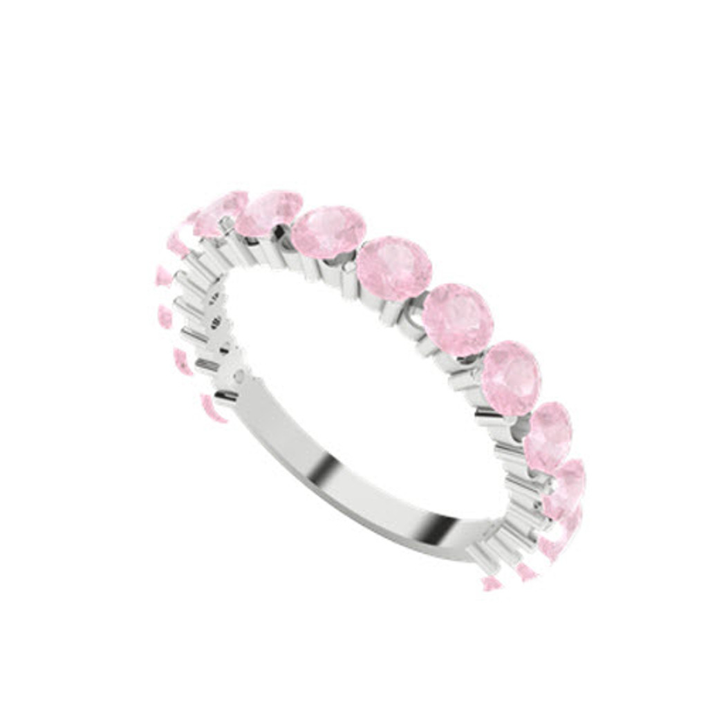 stylerocks-full-round-brilliant-cut-pink-sapphire-white-gold-wedding-ring-on-hand