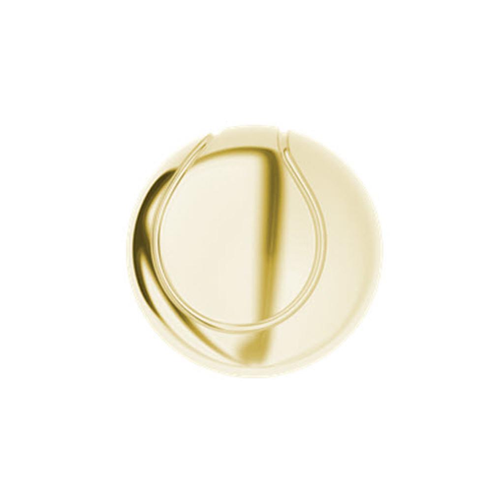 Tennis Ball Cufflinks Yellow Gold