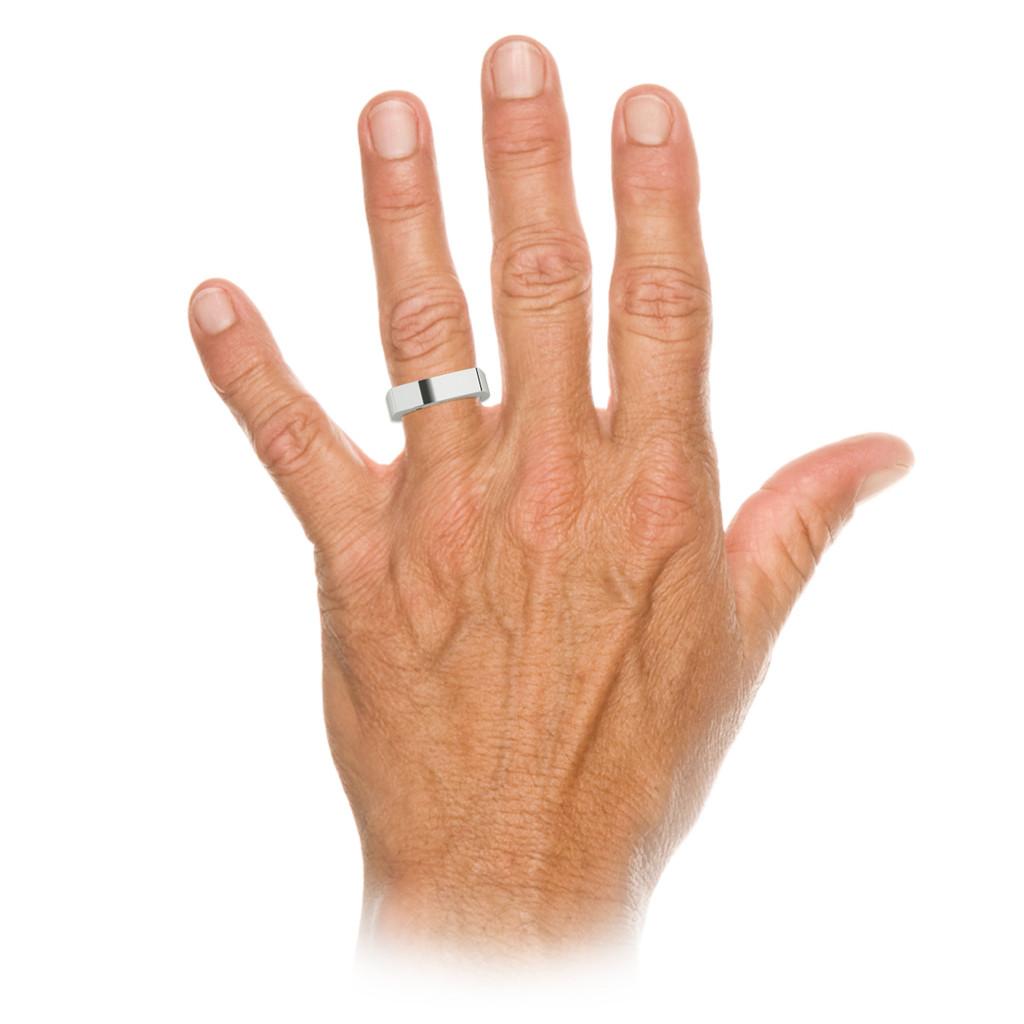 stylerocks-white-gold-rectangular-signet-ring-on-hand