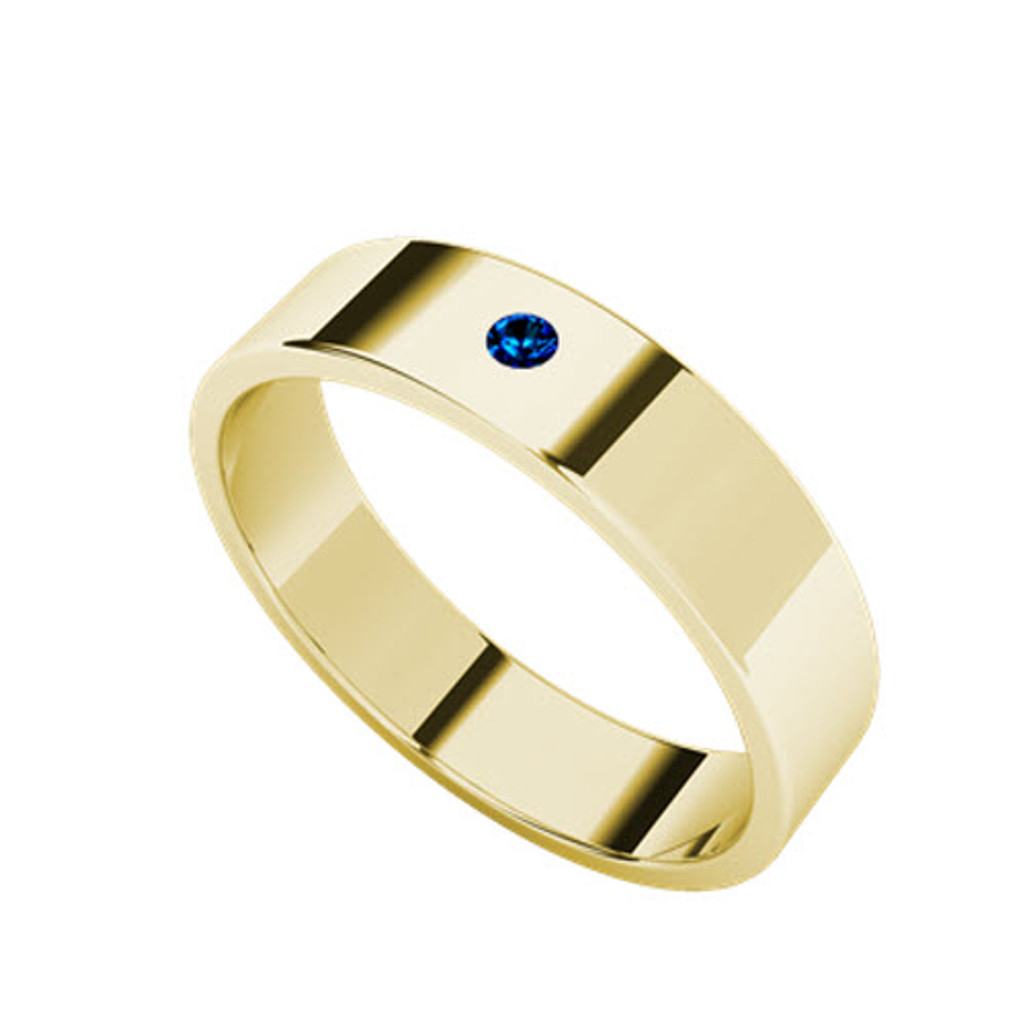 stylerocks-yellow-gold-round-brilliant-cut-blue-sapphire-wedding-ring