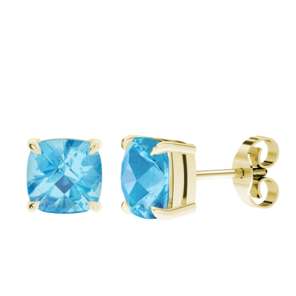 stylerocks-8mm-blue-topaz-9ct-yellow-gold-checkerboard-stud-earrings