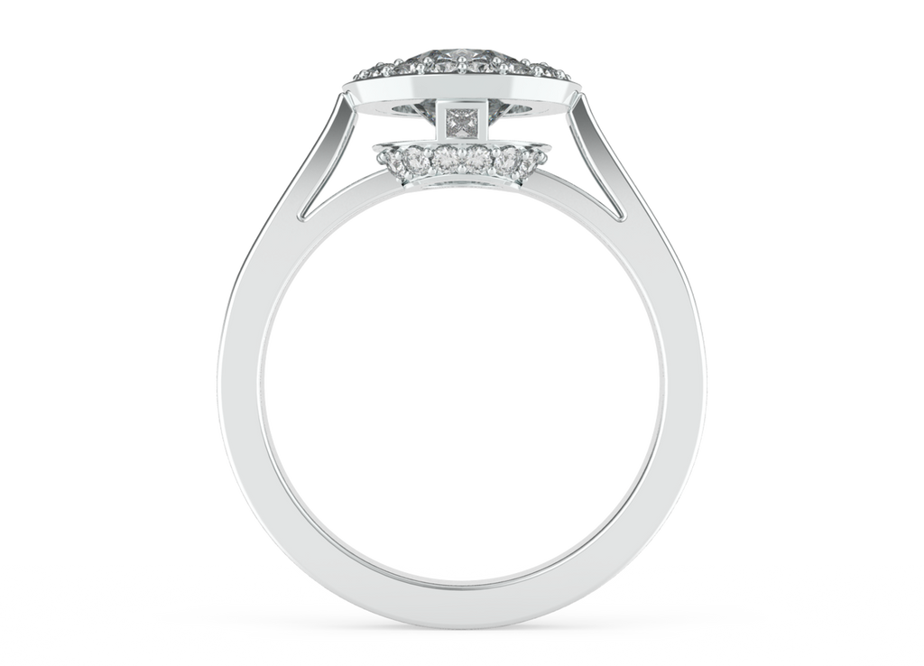 round-brilliant-cut-1carat-diamond-halo-diamond-band-18carat-white-gold-engagement-ring-stylerocks