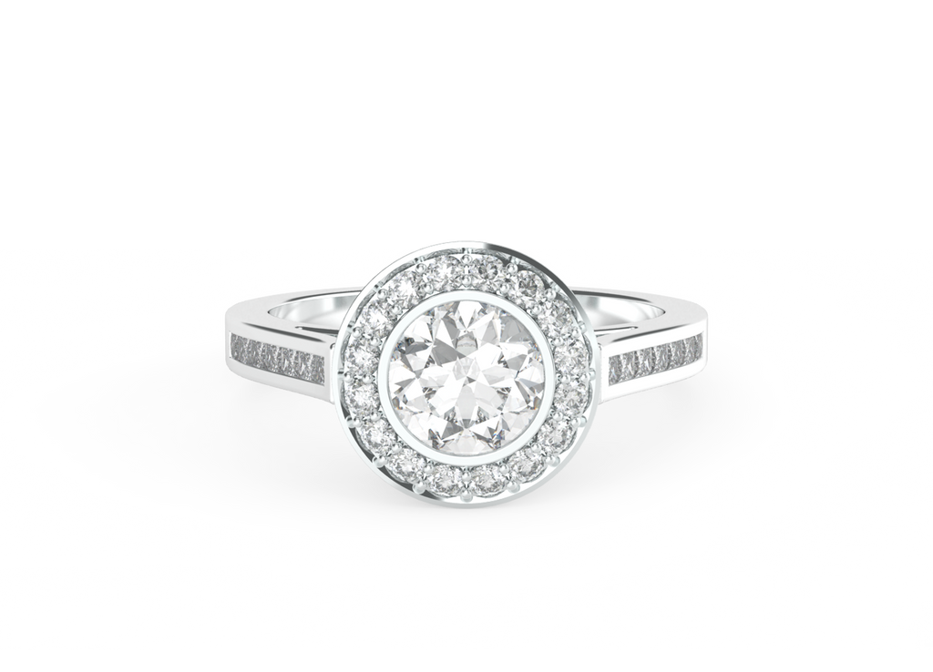 round-brilliant-cut-1carat-diamond-halo-diamond-band-14carat-white-gold-engagement-ring-stylerocks