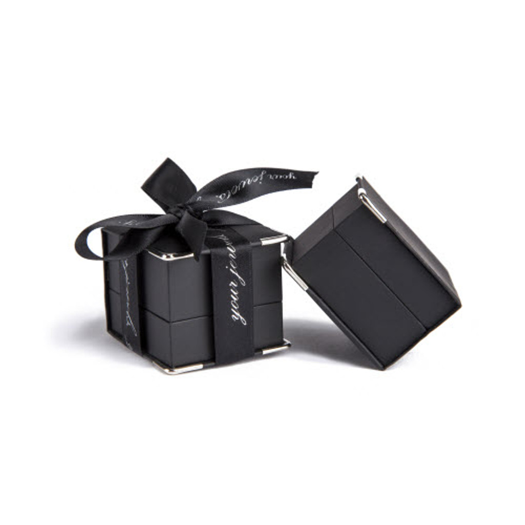 Men's Rectangular Cufflinks (Silver)