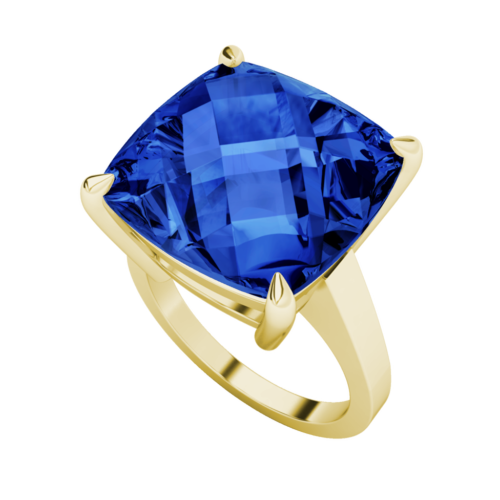 stylerocks-14mm-blue-sapphire-cushion-checkerboard-9ct-yellow-gold-ring