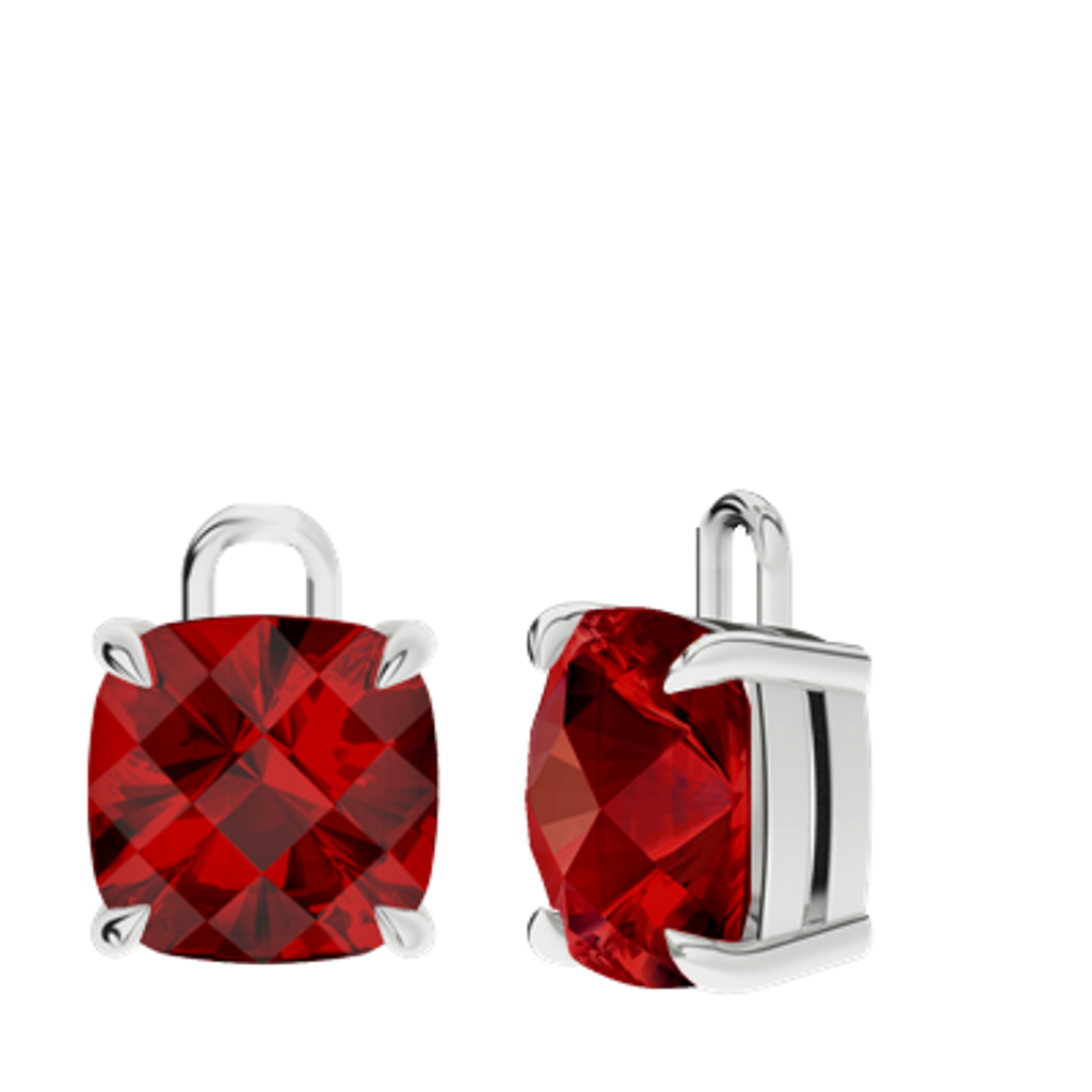 stylerocks-ruby-sterling-silver-checkerboard-earrings-drops-only