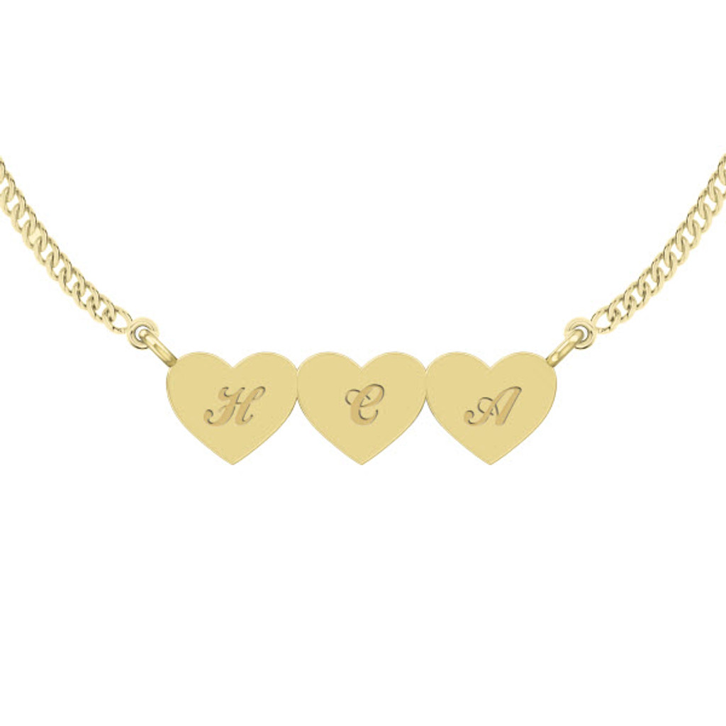 stylerocks-three-joined-hearts-necklace-9ct-yellow-gold-engraved-cursive