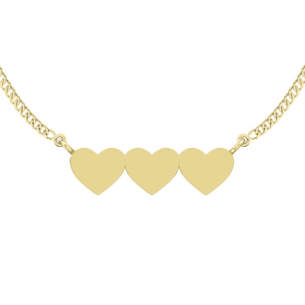 stylerocks-three-joined-hearts-necklace-9ct-yellow-gold