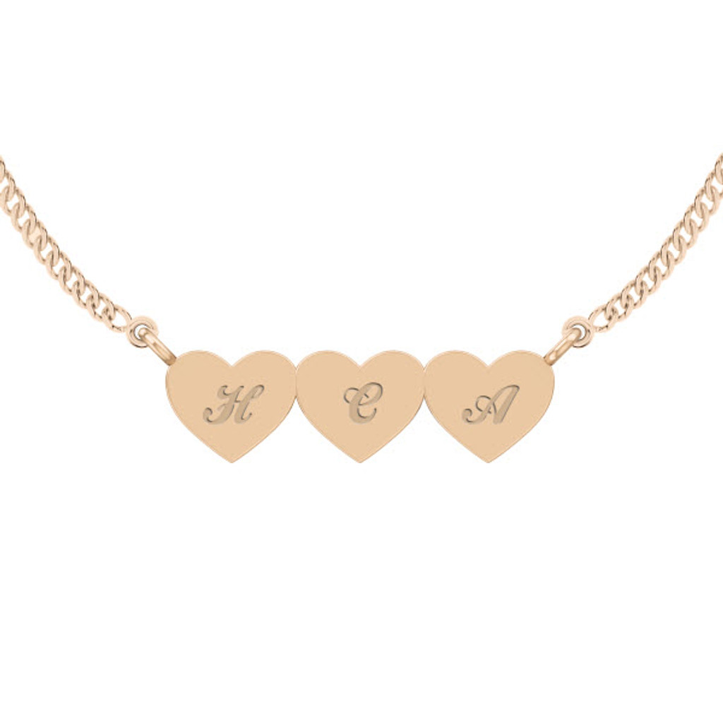 stylerocks-three-joined-hearts-necklace-9ct-rose-gold-engraved-cursive