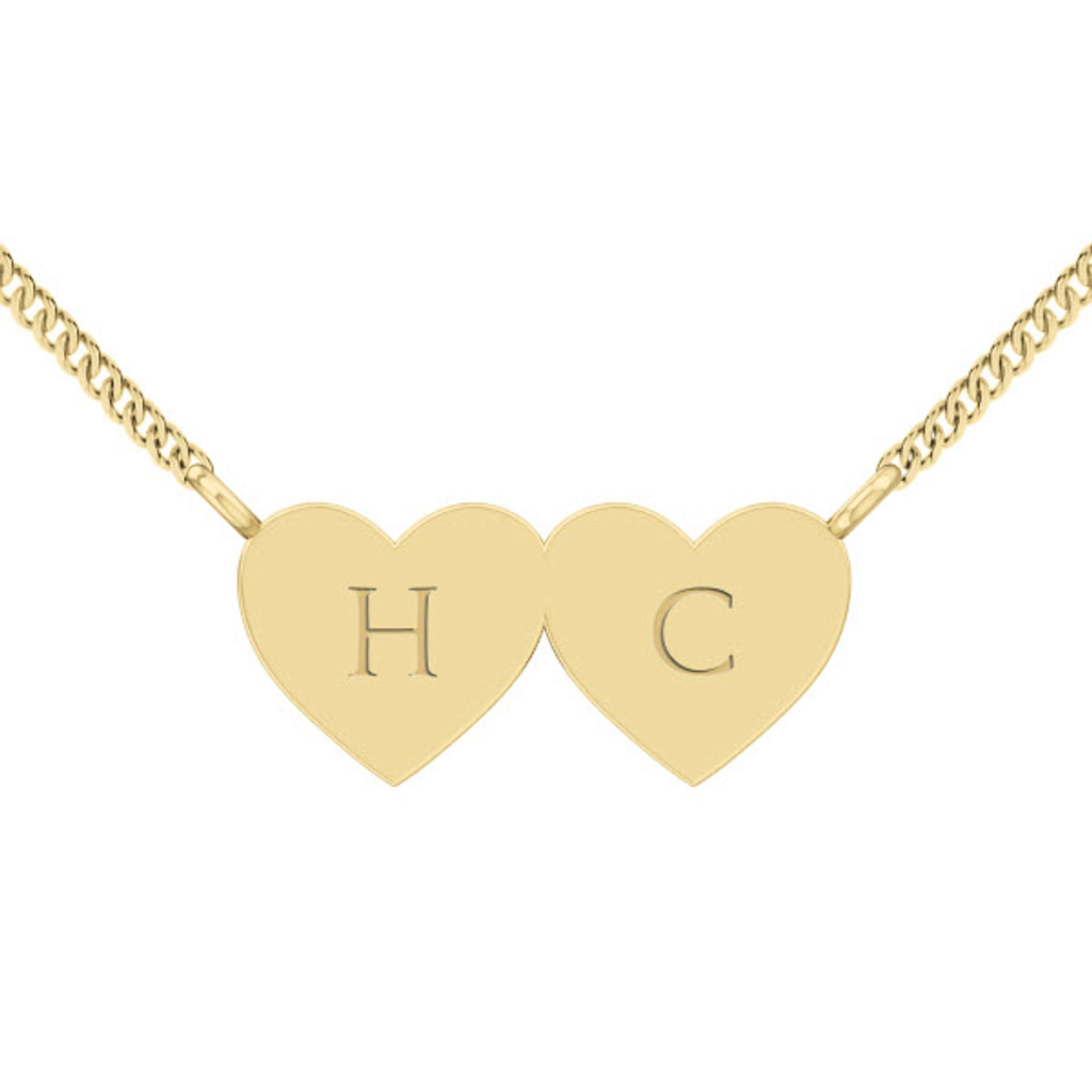 stylerocks-two-joined-hearts-necklace-9ct-yelllow-gold-engraved-cursive