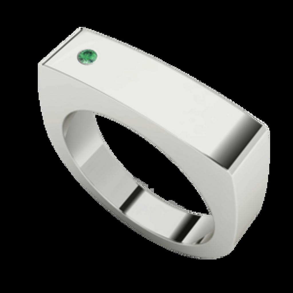 mens-rectangular-signet-ring-silver-emerald