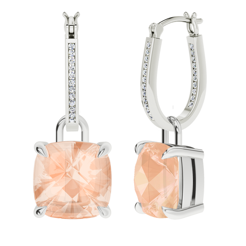 white-gold-diamond-hoops-morganite-drops