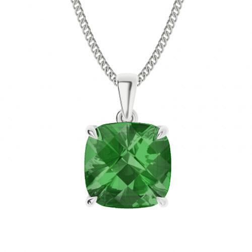 stylerocks-emerald-cut-emerald-10mm-sterling-silver-necklace