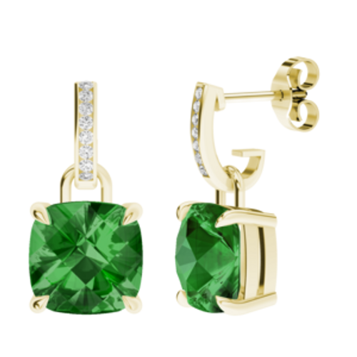 stylerocks-cushion-checkerboard-emerald-yellow-gold-and-diamond-drop-earrings