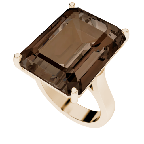 smoky-quartz-rose-gold-plated-cocktail-ring-stylerocks