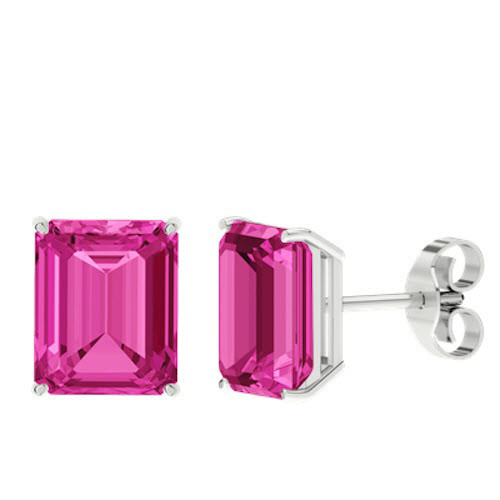 stylerocks-pink-sapphire-emerald-cut-sterling-silver-stud-earrings