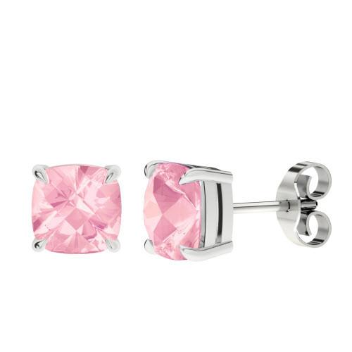 stylerocks-rose-quartz-silver-checkerboard-stud-earrings