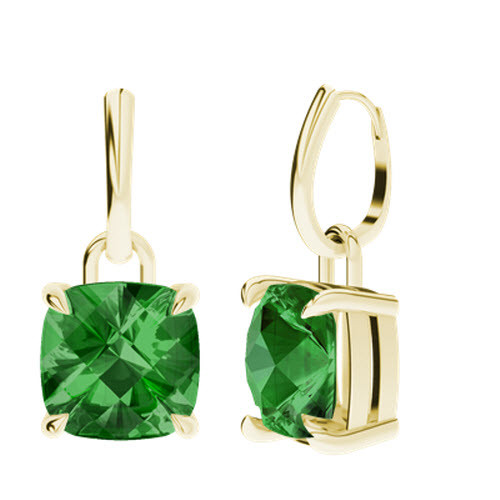 stylerocks-emerald-9ct-yellow-gold-cushion-checkerboard-10mm-drop-earrings