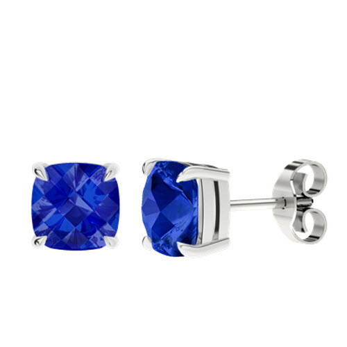 stylerocks-sapphire-checkerboard-silver-stud-earrings