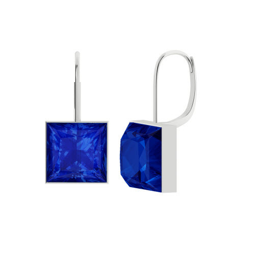 stylerocks-princess-cut-sapphire-silver-drop-earrings