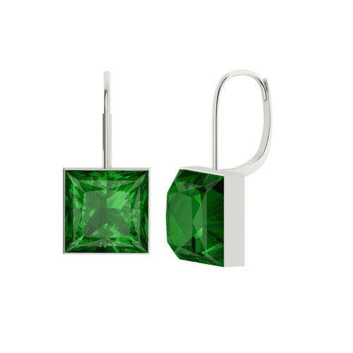 stylerocks-princess-cut-emerald-silver-drop-earrings