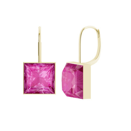 stylerocks-princess-cut-pink-sapphire-gold-drop-earrings