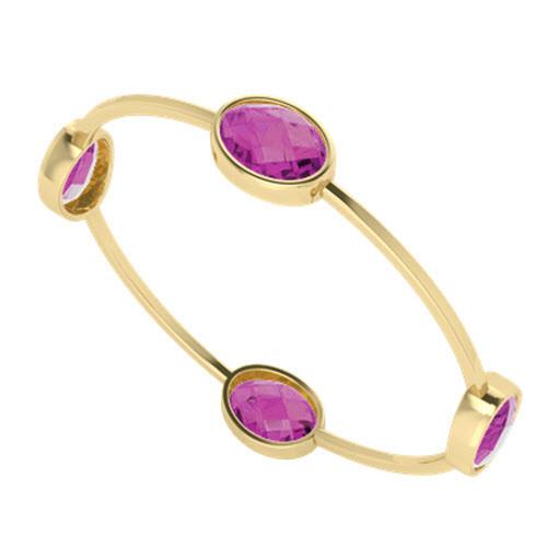stylerocks-oval-15mm-11mm-four-stone-pink-sapphire-yellow-gold-bangle