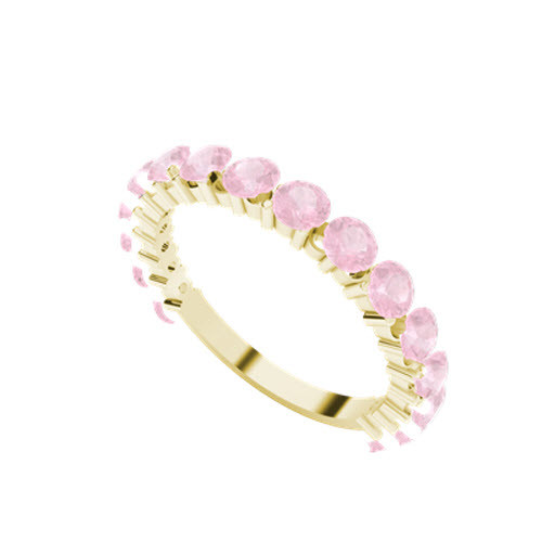 stylerocks-full-round-brilliant-cut-pink-sapphire-yellow-gold-wedding-ring-on-hand