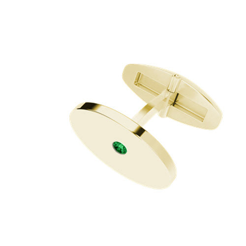 stylerocks-yellow-gold-emerald-oval-cufflinks