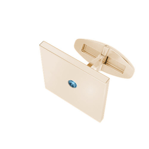 stylerocks-rose-gold-aquamarine-square-cufflinks