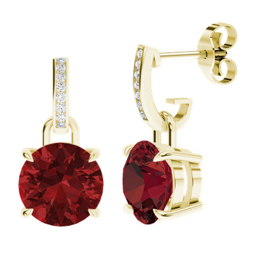 stylerocks-round-brilliant-cut-ruby-yellow-gold-and-diamond-drop-earrings