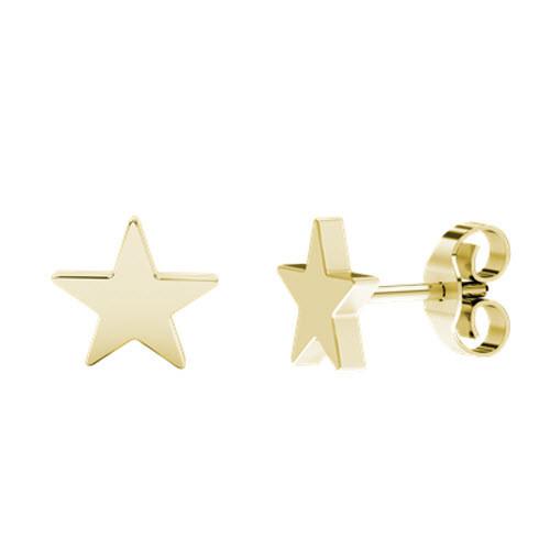 stylerocks-star-stud-yellow-gold-earrings