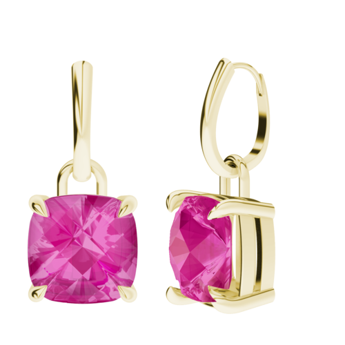 stylerocks-cushion-checkerboard-10mm-pink-sapphire-9ct-yellow-gold-drop-earrings