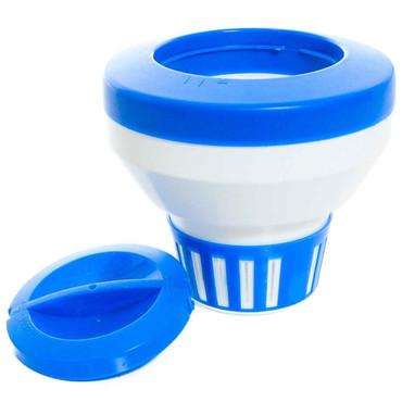 DG Pool Products Floating Chemical Dispenser Floater 1, 3 Chlorine Tablet Tabs