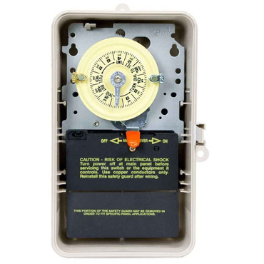 InterMatic Intermatic T104P3 208-277 Volt DPST 24 Hour Mechanical Time Switch