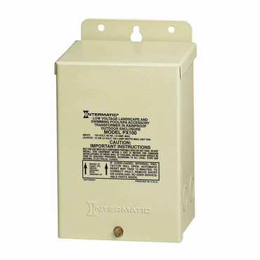 InterMatic Intermatic PX100 Pool Light 100-Watt Safety Transformer, Beige