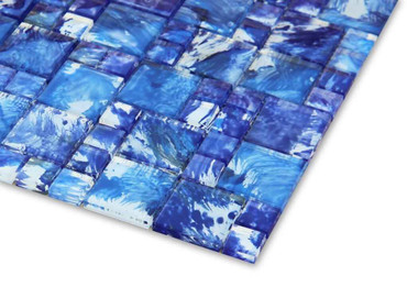 Pool Tile Watercolor Series - WCSCBMIX