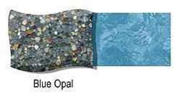 River Rok River Rok Blue Opal Sold in 10 Bag Batch